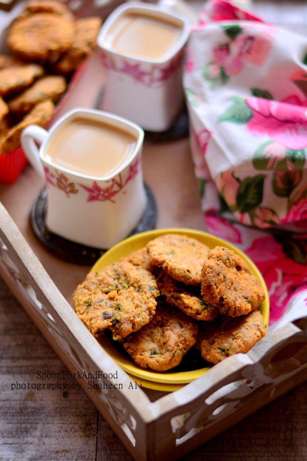 Baked Karela Crackers