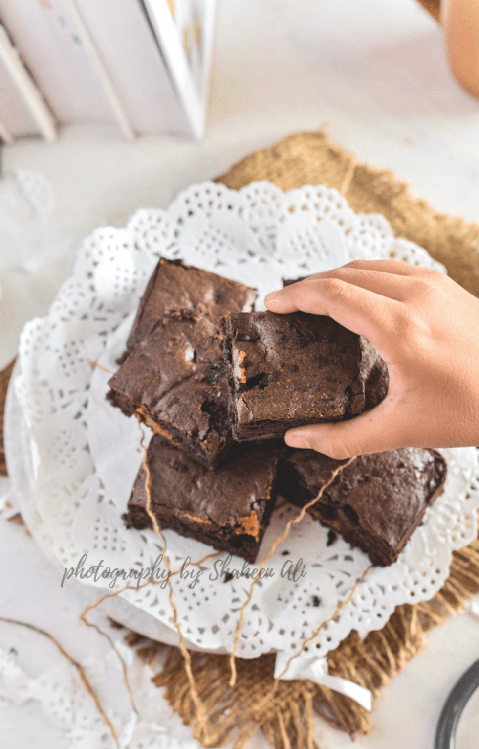 Salted Caramel Chocolate Brownie