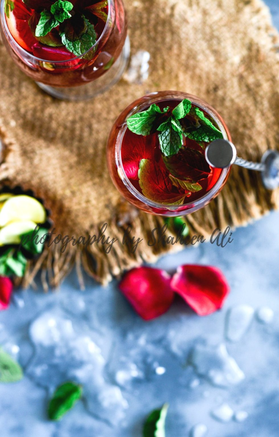 Hibiscus Lemon Tea