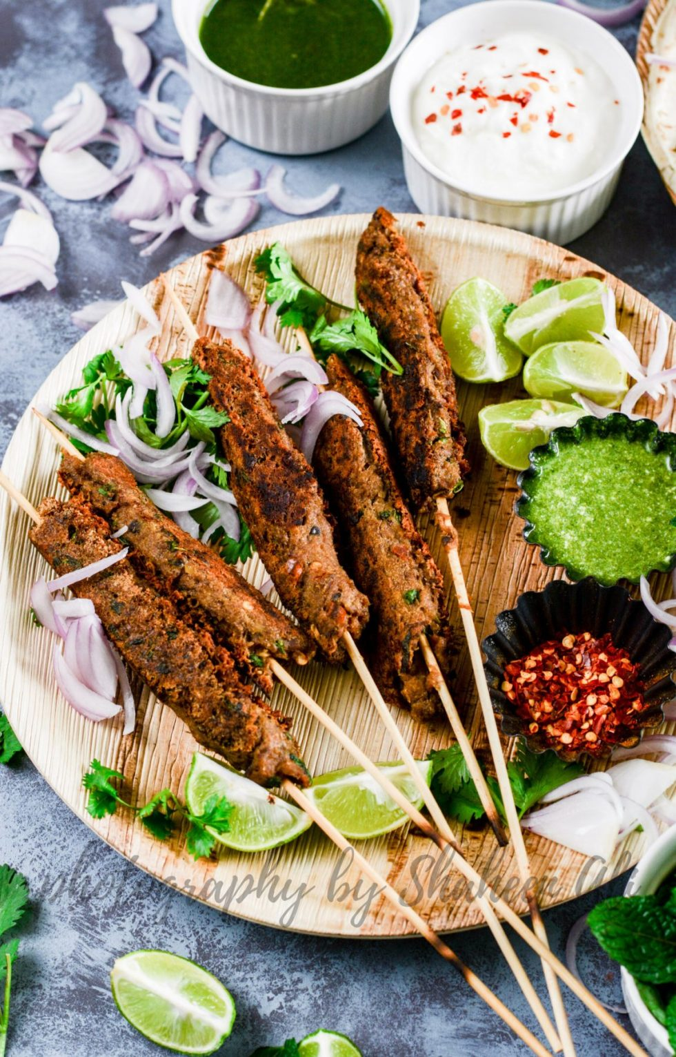 Stove Top Mutton Seekh Kebabs