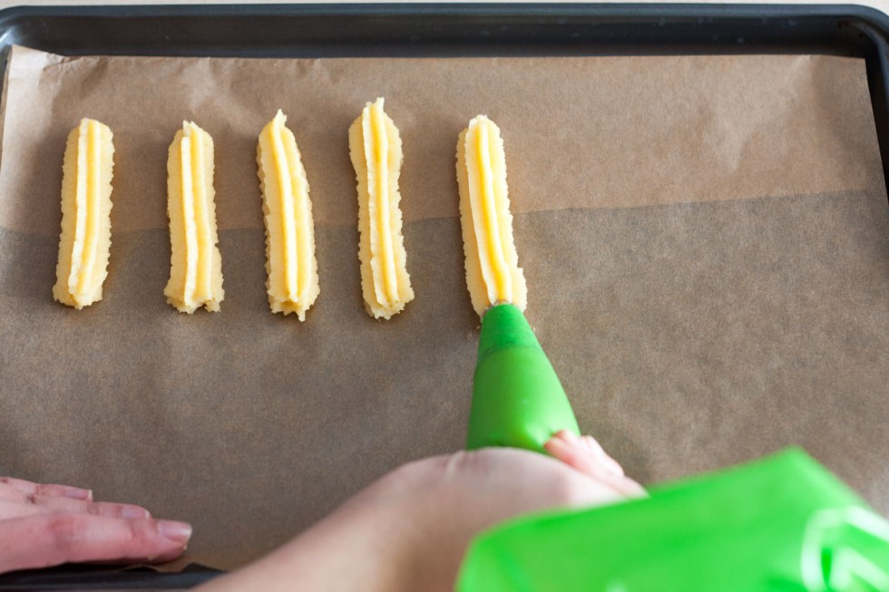 Steps in making Cinnamon Churro Bites | www.SpoonfulOfButter.com