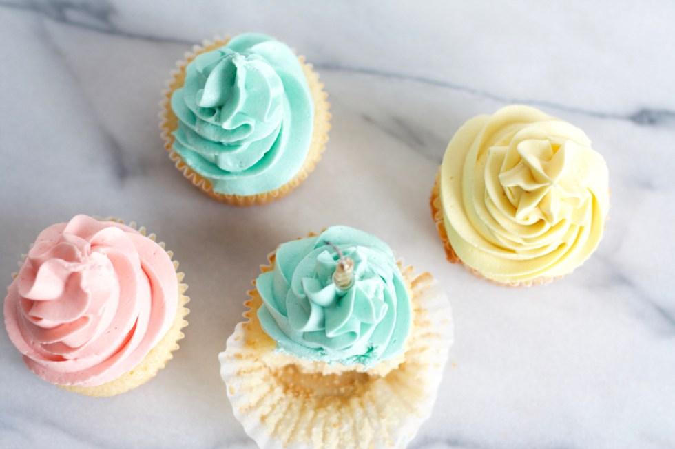Vanilla Birthday Cupcakes | www.SpoonfulOfButter.com