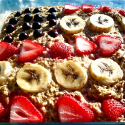 Patriotic Baked Oatmeal