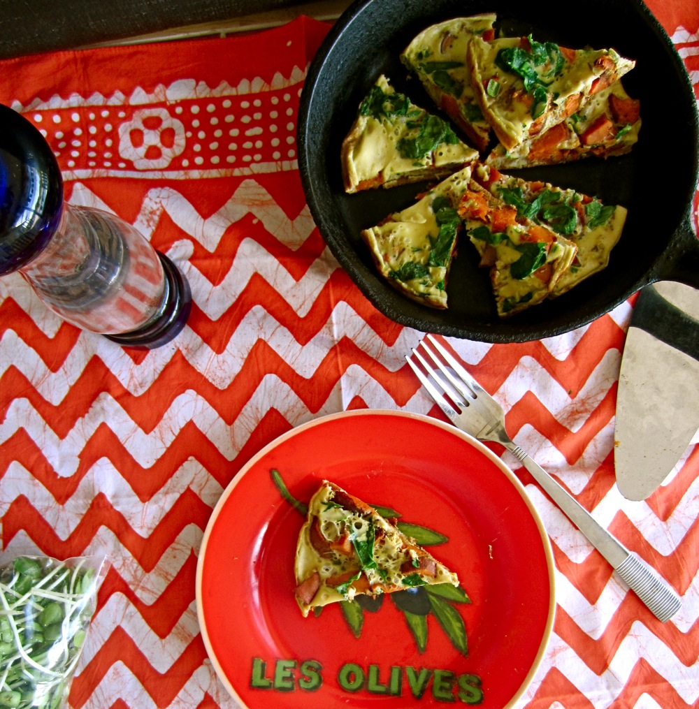 Roasted Sweet Potato and Rosemary Frittata   Spoonful of ...