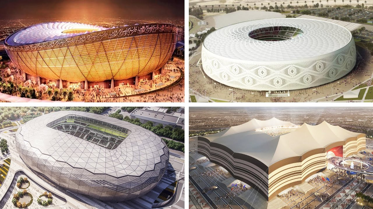 Qatar 2022 Stadium Progress - April 2020