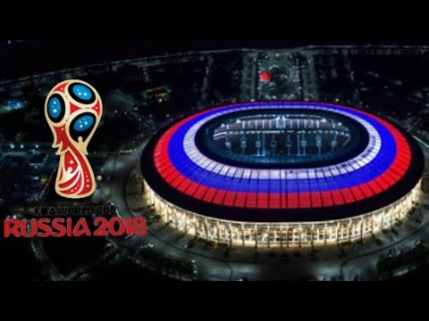 FIFA World Cup Stadiums : RUSSIA 2018 .