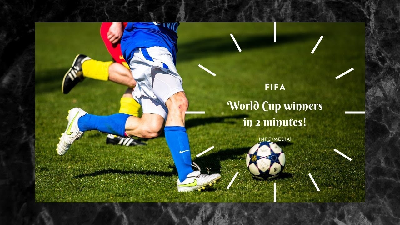 FIFA World Cup Winners in 2 Minutes.
