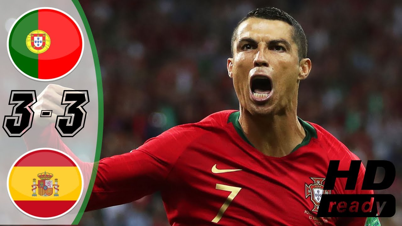 Portugal v Spain - 2018 FIFA World Cup Russia | Full HD 50 fps