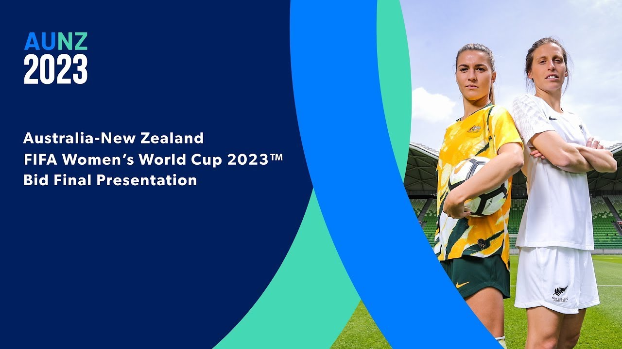 New Zealand, Australia to jointly host FIFA Women's World Cup 2023 - Final Presentation video
