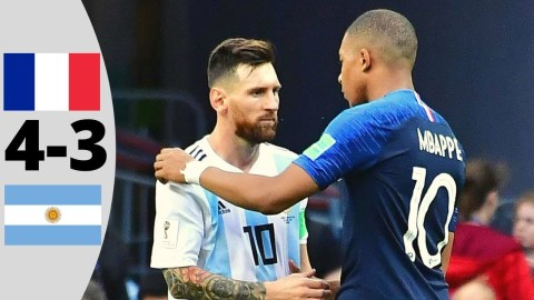 France vs Argentina 4-3 World cup 2018 Highlights and goals