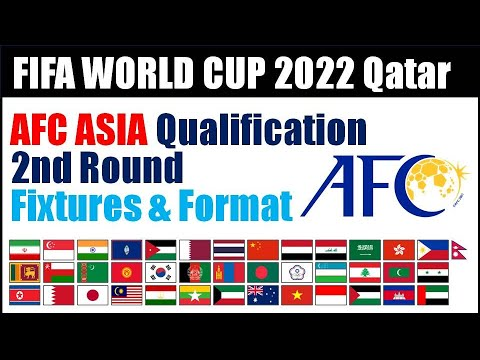 AFC Asia Qualifiers 2nd Round : Fixtures, Schedule, Format - FIFA World Cup 2022 Qatar Qualify Round