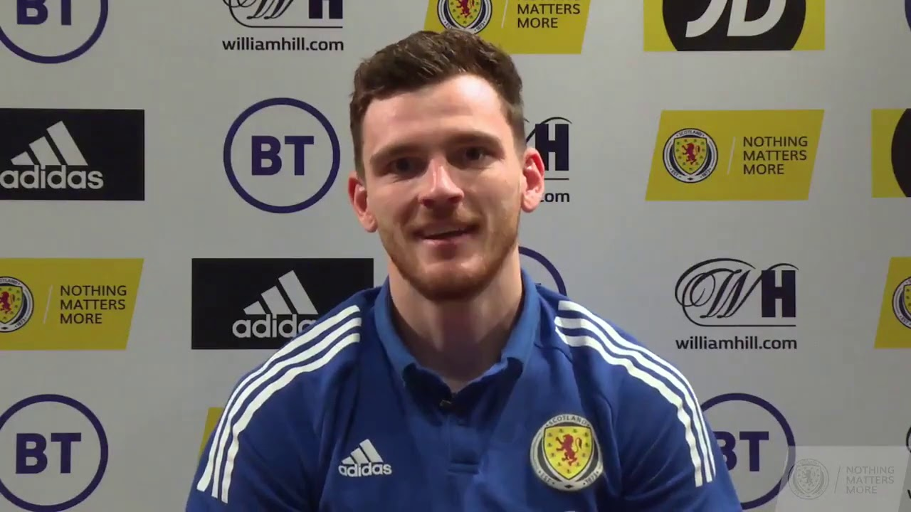 Andy Robertson's Thank You Message To Scotland Fans | UEFA EURO 2020 Qualification