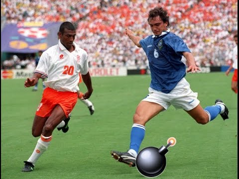 The Beautiful Goal of Branco - World Cup 94 Brazil vs Netherlands