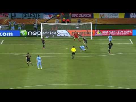 Diego Forlan Goal Fifa World Cup 2010