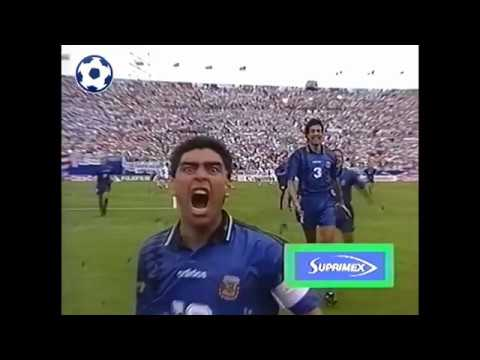 Diego Maradona Goal - World Cup 1994 - Group D | Argentina - Greece 4:0 | 60'