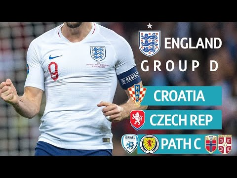EURO 2020 GROUP D DRAW | CAN ENGLAND WIN IT?!