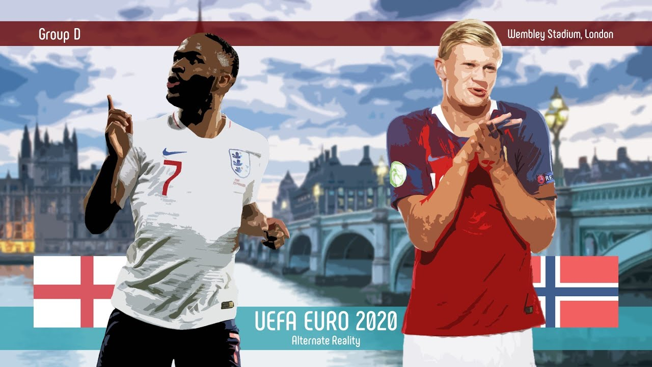 England v Norway | Group D | UEFA EURO 2020 | Alternate Reality