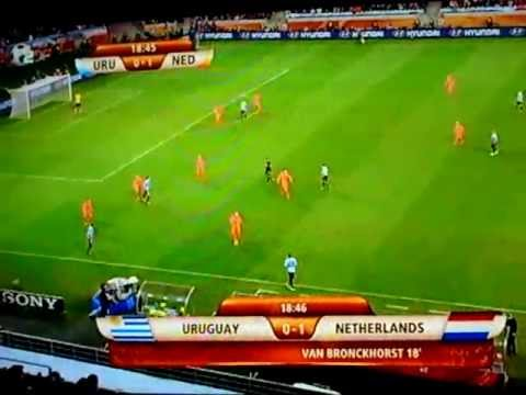 Fifa World Cup 2010 Niederlande vs Uruguay WM2010 1 Goal Netherlands