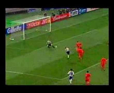 Inamoto World Cup 2002 goal