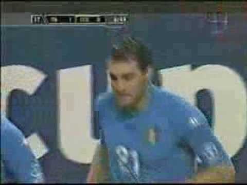Italian Goal over Ecuador World Cup 2002