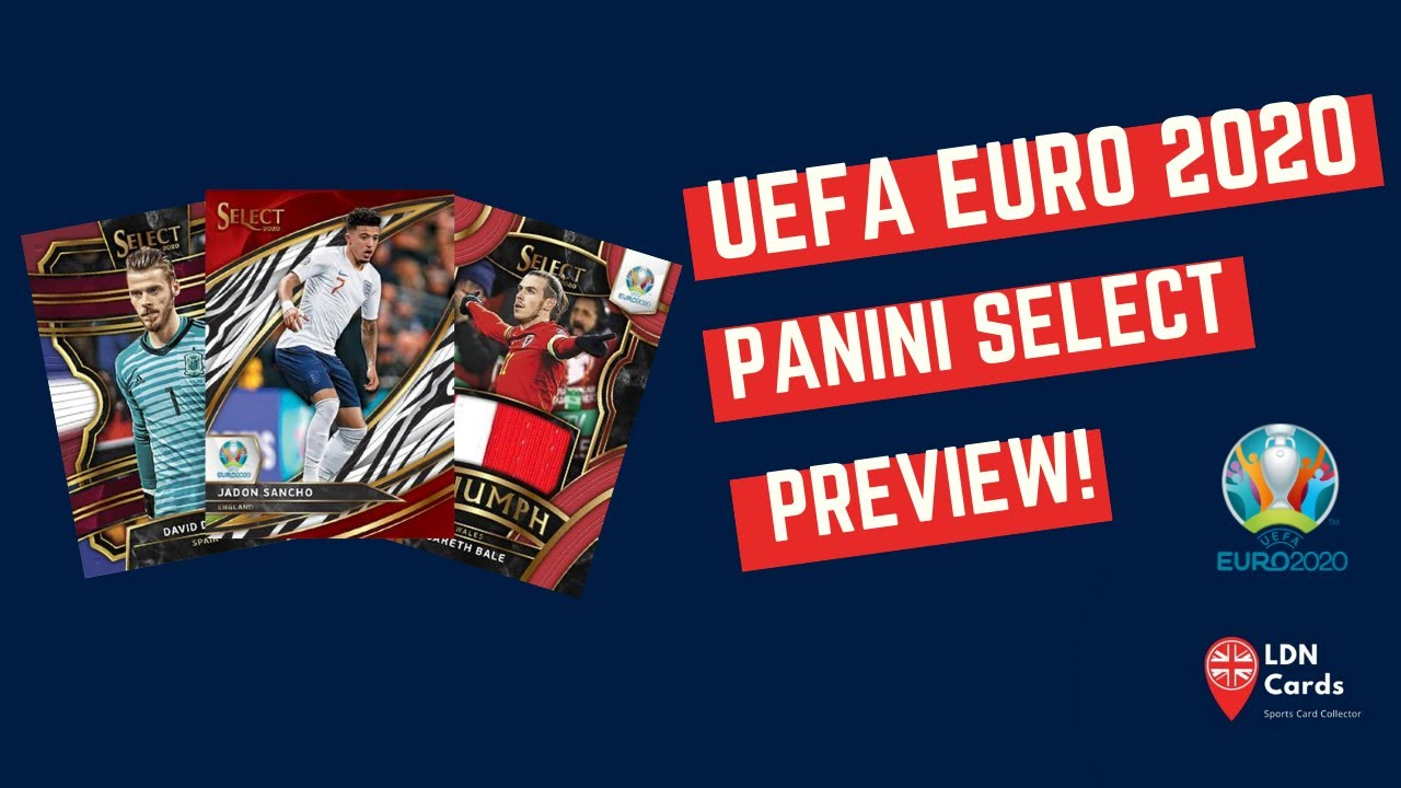 LDN Cards - Panini Select UEFA Euro 2020 Preview