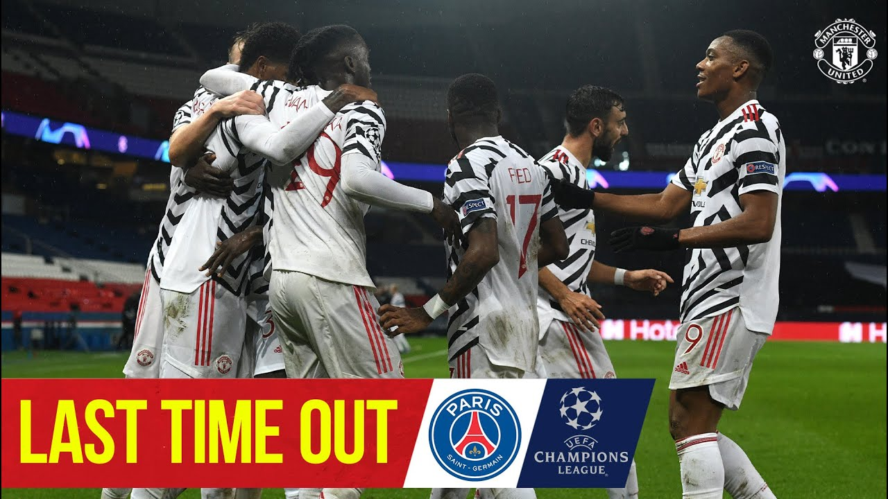 Last Time Out | PSG 1-2 Manchester United | UEFA Champions League