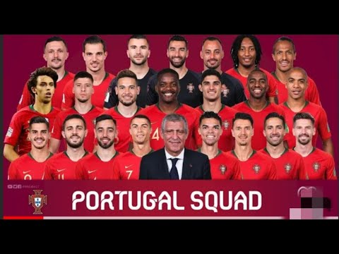 PORTUGAL POTENTIAL SQUAD FOR FIFA WORLD CUP 2022 QATAR