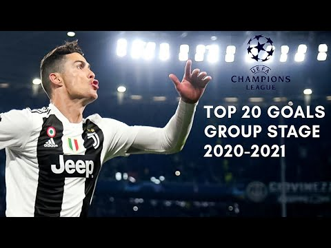 Top 20 Goals of UEFA Champions League Group Stage (2020-21)