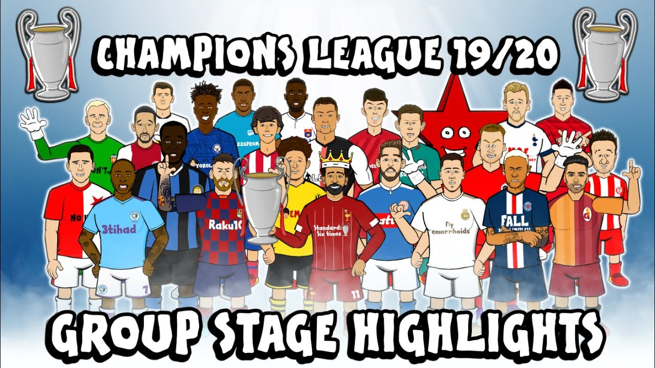 ?UCL GROUP STAGE HIGHLIGHTS? 2019/2020 (UEFA Champions League Best Games and Top Goals)