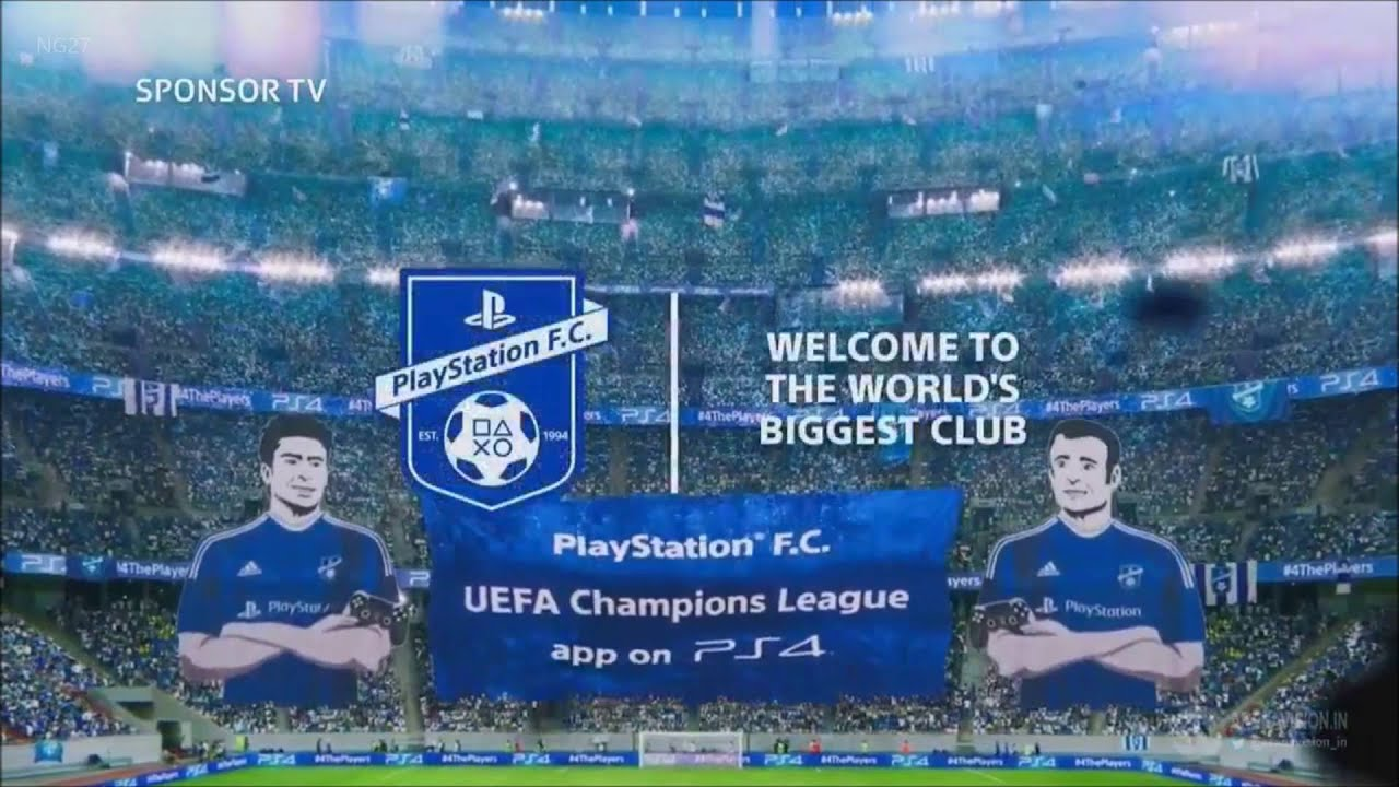 UEFA Champions League 2016 Intervalo - PlayStation & Heineken IT