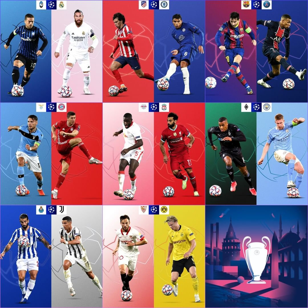 The last 16  Who will be lifting the trophy in Istanbul in 2021? ...