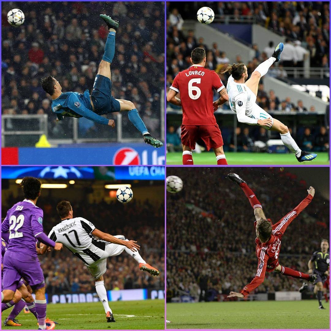 Who did it best?   Great acrobatic goals in Champions League history...        ...