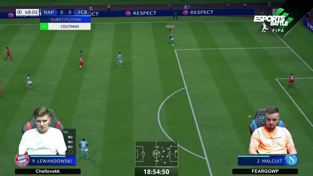 2020-07-30 - Champions League B Cyber Cup Stream 4