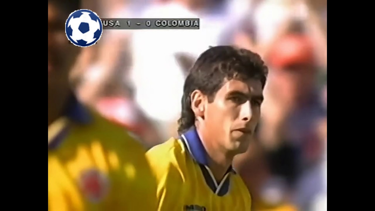 Andrés Escobar (Own Goal) - World Cup 1994 - Group A | United States - Colombia 2:1 | 35' o.g. (1:0)