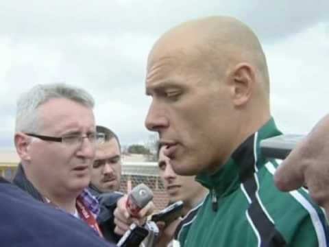FIFA World Cup 2010 - Howard Webb talks goal line technology U turn despite Blatter comments