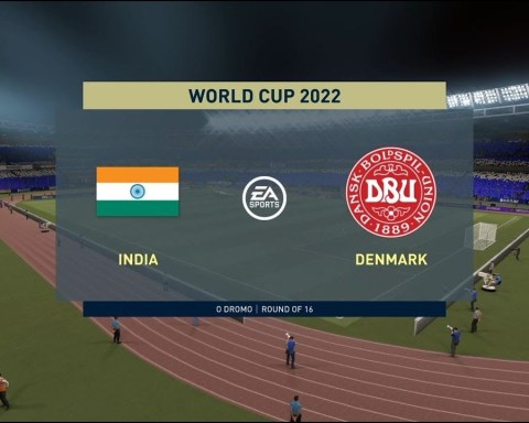 FIFA World cup 2022 - INDIA vs Denmark : FIFA 21 Full Match #Round of 16