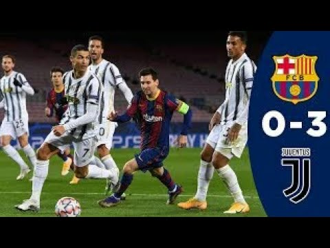 Fc Barcelona vs Juventus || 0-3 || All goals & extended highlights || UEFA Champions League 2020