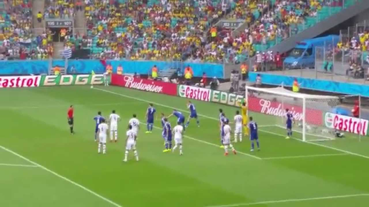 Iran's Goal in FIFA WORLD CUP 2014 Brazil filmed LIVE as it happened! AWESOME!