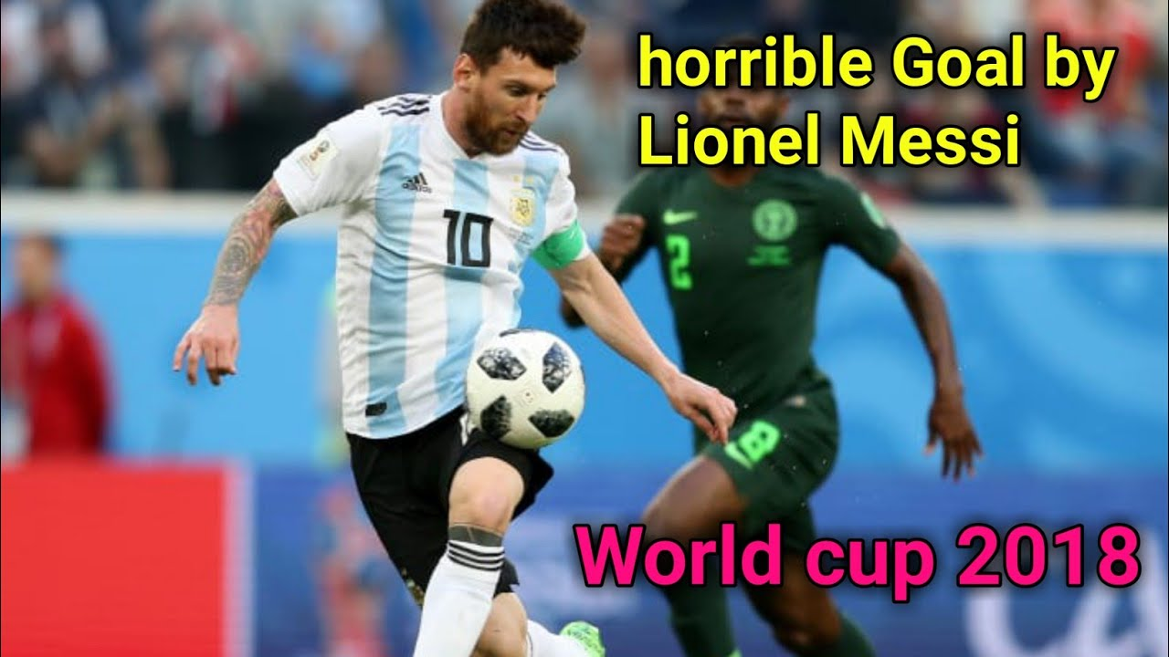 Lionel MESSIs Super goal on world cup 2018 with slow motion| fifa world cup goal 2018 |