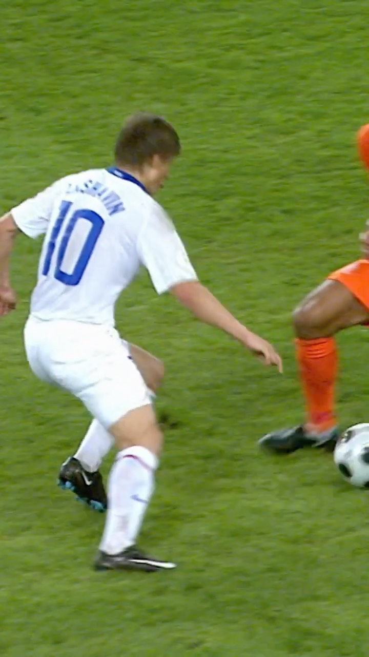 Andrey Arshavin was on a different level at EURO 2008!...