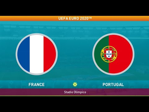 France vs Portugal | UEFA EURO 2020 PES 2021 Gameplay