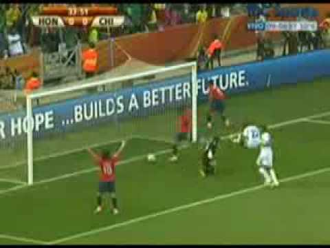 Honduras vs Chile 0-1 - FIFA World Cup 2010 - Goal - Gol - 16/06/2010
