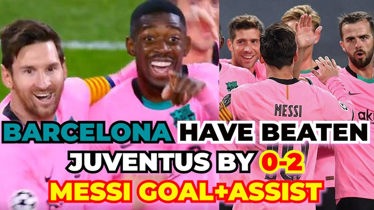 Juventus vs Barcelona 0-2 Highlights 2020 | UEFA Champions League Group Stage Results | BARCA JUVE