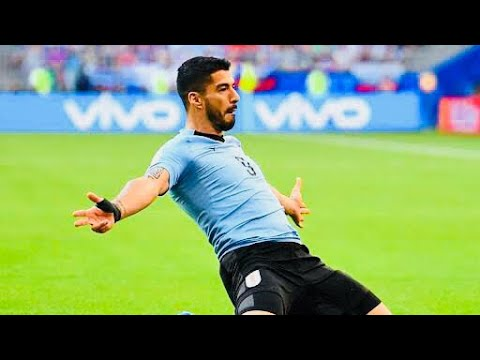 Luis Suarez Goal - Uruguay vs Russia - FIFA World Cup 2018 ™ (4K Quality) - Easter Special-