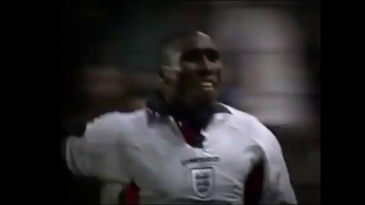 Sol Campbell disallowed goal - England v Argentina France 98 - World Cup 98