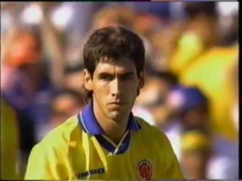 andrs escobar own goal world cup 1994 usa  colombia