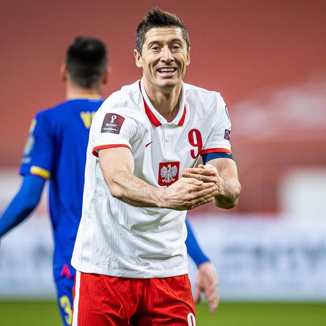 47 goals in 42 games this season for     Will Poland beat England on Wednesday?...