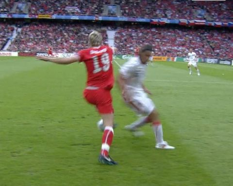 How smooth was Valon Behrami outrageous touch... ...