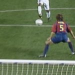 Puyol last-ditch defending       ...