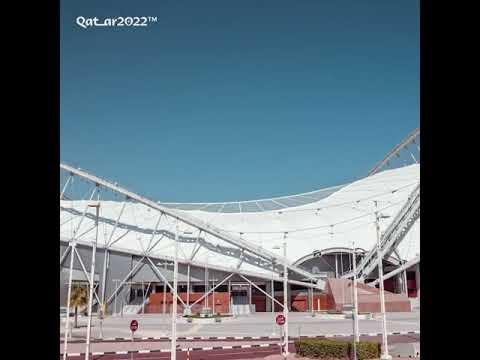 New stadium is ready for FIFA WORLD CUP 2022  Qatar